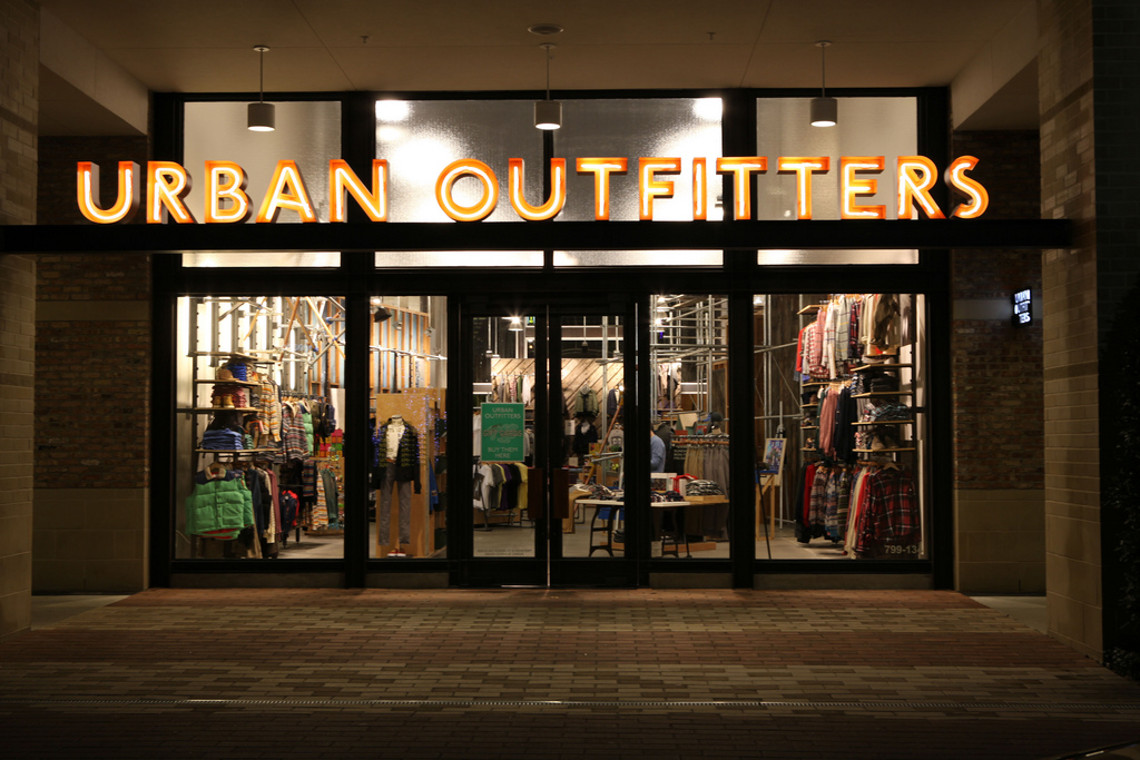 Image result for urban outfitters shop front